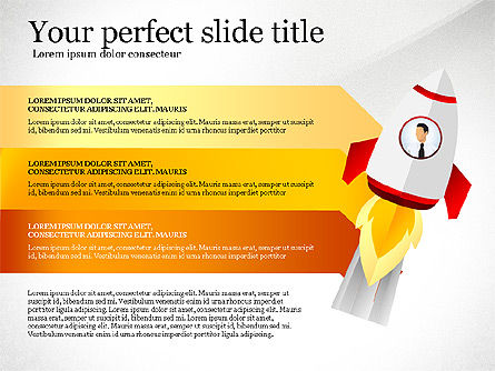 Launching a Business Presentation Template, Slide 5, 03043, Presentation Templates — PoweredTemplate.com