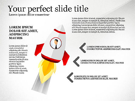 Launching a Business Presentation Template, Slide 6, 03043, Presentation Templates — PoweredTemplate.com