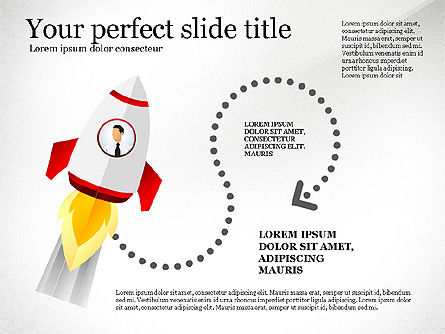 Launching a Business Presentation Template, Slide 7, 03043, Presentation Templates — PoweredTemplate.com