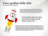 Presentation Templates: De lancering van een zakelijke presentatie sjabloon #03043