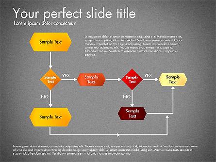 Flow Chart Toolbox, Slide 11, 03046, Flow Charts — PoweredTemplate.com