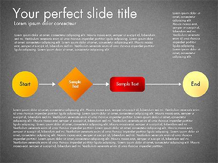 Flow Chart Toolbox, Slide 12, 03046, Flow Charts — PoweredTemplate.com