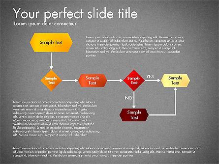 Flow Chart Toolbox, Slide 13, 03046, Flow Charts — PoweredTemplate.com