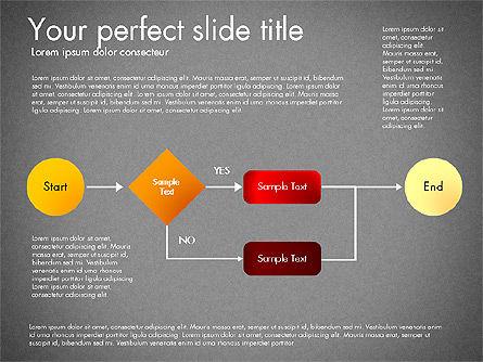 Flow Chart Toolbox, Slide 14, 03046, Flow Charts — PoweredTemplate.com