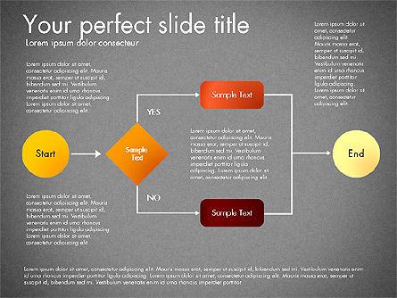 Flow Chart Toolbox, Slide 15, 03046, Flow Charts — PoweredTemplate.com
