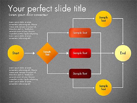 Flow Chart Toolbox, Slide 16, 03046, Flow Charts — PoweredTemplate.com