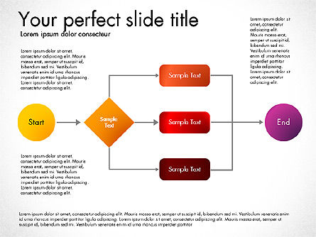 Flow Chart Toolbox, Slide 2, 03046, Flow Charts — PoweredTemplate.com