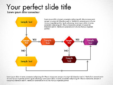 Flow Chart Toolbox, Slide 3, 03046, Flow Charts — PoweredTemplate.com