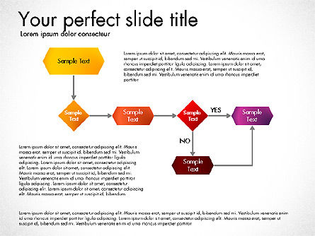 Flow Chart Toolbox, Slide 5, 03046, Flow Charts — PoweredTemplate.com