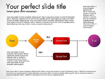 Flow Chart Toolbox, Slide 6, 03046, Flow Charts — PoweredTemplate.com