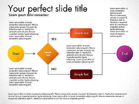 Flow Chart Toolbox, Slide 7, 03046, Flow Charts — PoweredTemplate.com