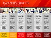 Presentation Templates: Company Report Presentation Template #03050