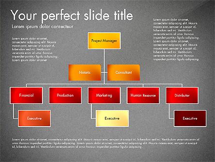 Organization Diagram, Slide 11, 03052, Organizational Charts — PoweredTemplate.com