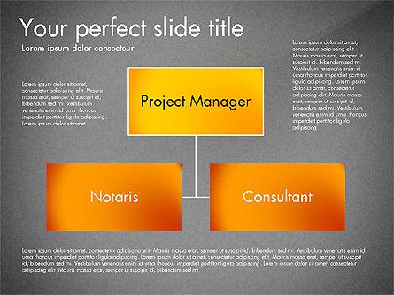Organization Diagram, Slide 15, 03052, Organizational Charts — PoweredTemplate.com