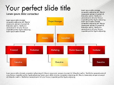 Organization Diagram, Slide 3, 03052, Organizational Charts — PoweredTemplate.com