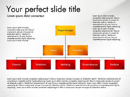 Organization Diagram, Slide 5, 03052, Organizational Charts — PoweredTemplate.com