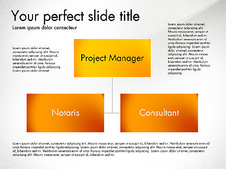 Organization Diagram, Slide 7, 03052, Organizational Charts — PoweredTemplate.com