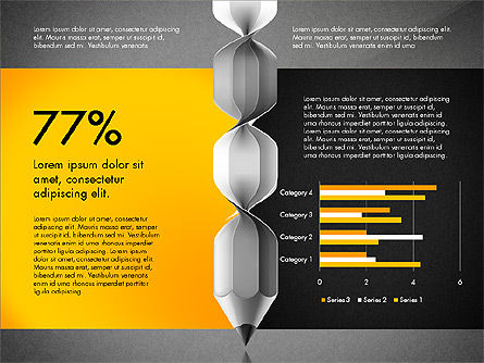Infographic Report, Slide 10, 03053, Infographics — PoweredTemplate.com