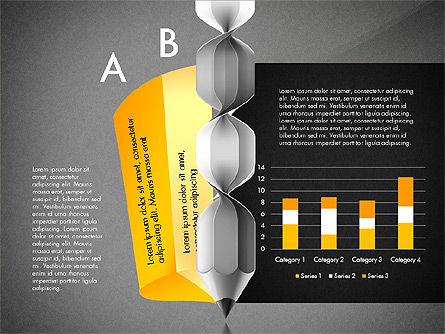 Infographic Report, Slide 13, 03053, Infographics — PoweredTemplate.com