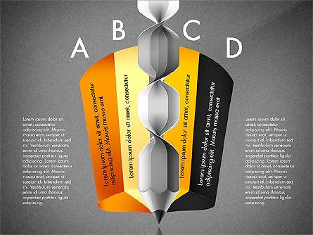 Infographic Report, Slide 14, 03053, Infographics — PoweredTemplate.com