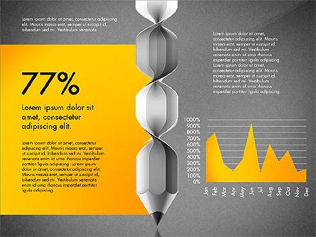 Infographic Report, Slide 16, 03053, Infographics — PoweredTemplate.com