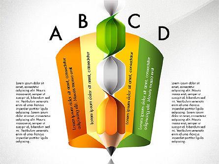 Infographic Report, Slide 6, 03053, Infographics — PoweredTemplate.com