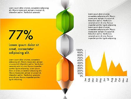 Infographic Report, Slide 8, 03053, Infographics — PoweredTemplate.com