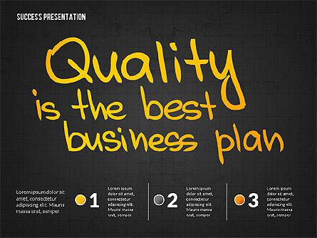 Achieving Success Presentation Concept, Slide 10, 03054, Presentation Templates — PoweredTemplate.com