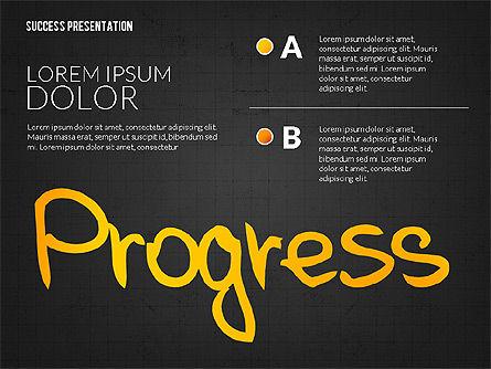 Achieving Success Presentation Concept, Slide 12, 03054, Presentation Templates — PoweredTemplate.com