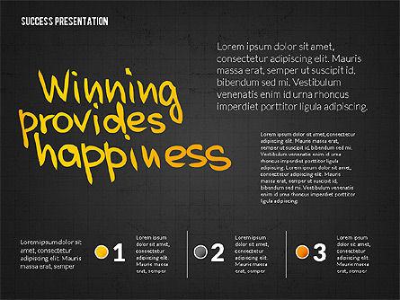 Achieving Success Presentation Concept, Slide 13, 03054, Presentation Templates — PoweredTemplate.com