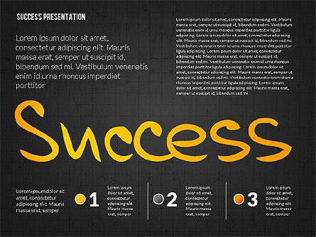 Achieving Success Presentation Concept, Slide 14, 03054, Presentation Templates — PoweredTemplate.com