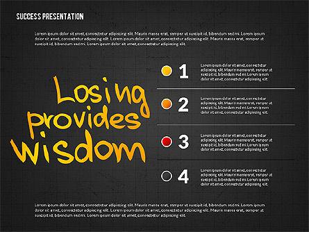 Achieving Success Presentation Concept, Slide 16, 03054, Presentation Templates — PoweredTemplate.com