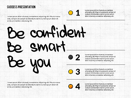 Achieving Success Presentation Concept, Slide 3, 03054, Presentation Templates — PoweredTemplate.com
