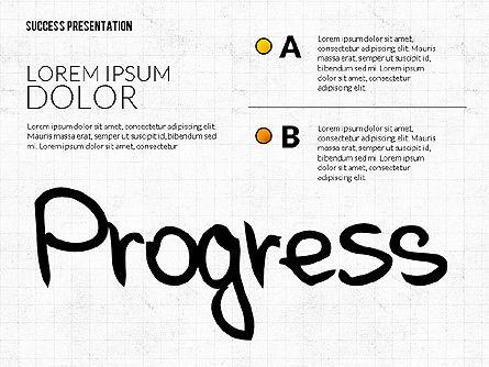 Achieving Success Presentation Concept, Slide 4, 03054, Presentation Templates — PoweredTemplate.com