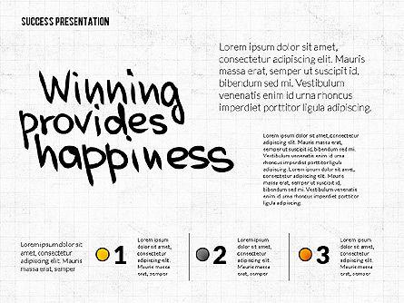 Achieving Success Presentation Concept, Slide 5, 03054, Presentation Templates — PoweredTemplate.com