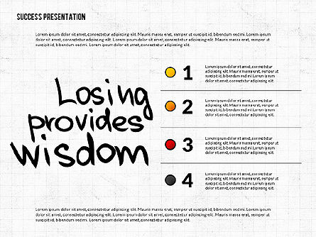 Achieving Success Presentation Concept, Slide 8, 03054, Presentation Templates — PoweredTemplate.com