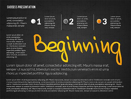 Achieving Success Presentation Concept, Slide 9, 03054, Presentation Templates — PoweredTemplate.com