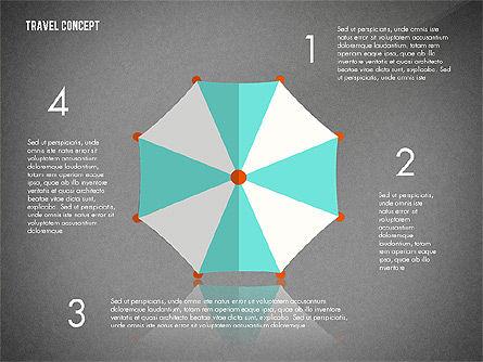 Travel Presentation Concept in Flat Design, Slide 10, 03055, Presentation Templates — PoweredTemplate.com