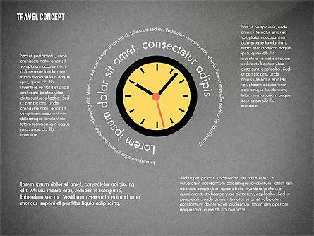 Travel Presentation Concept in Flat Design, Slide 13, 03055, Presentation Templates — PoweredTemplate.com