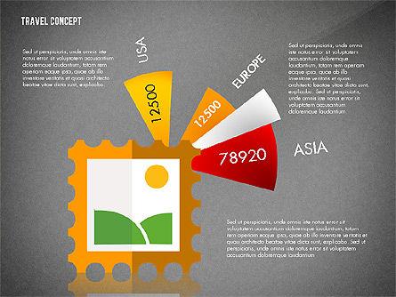 Travel Presentation Concept in Flat Design, Slide 15, 03055, Presentation Templates — PoweredTemplate.com