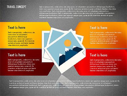Travel Presentation Concept in Flat Design, Slide 16, 03055, Presentation Templates — PoweredTemplate.com