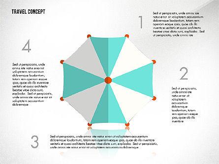 Travel Presentation Concept in Flat Design, Slide 2, 03055, Presentation Templates — PoweredTemplate.com