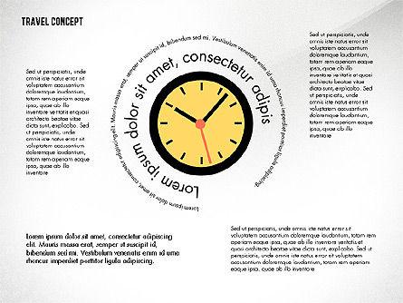 Travel Presentation Concept in Flat Design, Slide 5, 03055, Presentation Templates — PoweredTemplate.com