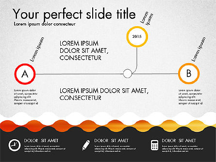 Timeline and Process Presentation Template, Slide 4, 03056, Process Diagrams — PoweredTemplate.com