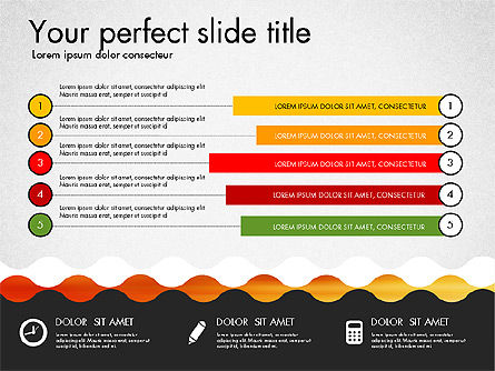 Timeline and Process Presentation Template, Slide 5, 03056, Process Diagrams — PoweredTemplate.com