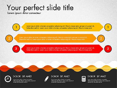 Timeline and Process Presentation Template, Slide 8, 03056, Process Diagrams — PoweredTemplate.com