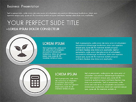 Pitch Deck Modern Presentation Template, Slide 10, 03057, Presentation Templates — PoweredTemplate.com