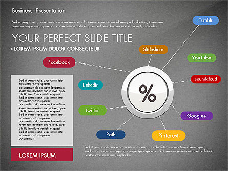 Pitch Deck Modern Presentation Template, Slide 11, 03057, Presentation Templates — PoweredTemplate.com