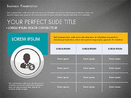 Pitch Deck Modern Presentation Template, Slide 12, 03057, Presentation Templates — PoweredTemplate.com