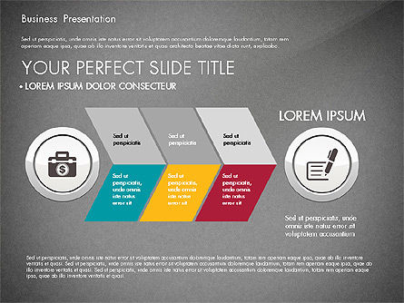 Pitch Deck Modern Presentation Template, Slide 13, 03057, Presentation Templates — PoweredTemplate.com